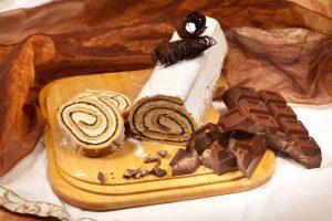 Rotolo al cioccolato - Gelateria Sciarra