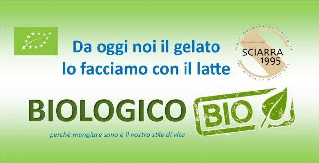 Latte biologico - Gelateria Sciarra